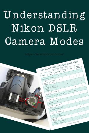 Understanding Nikon DSLR Camera Modes - Live Snap Create