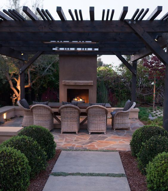 Outdoor Seating Fire Luxury