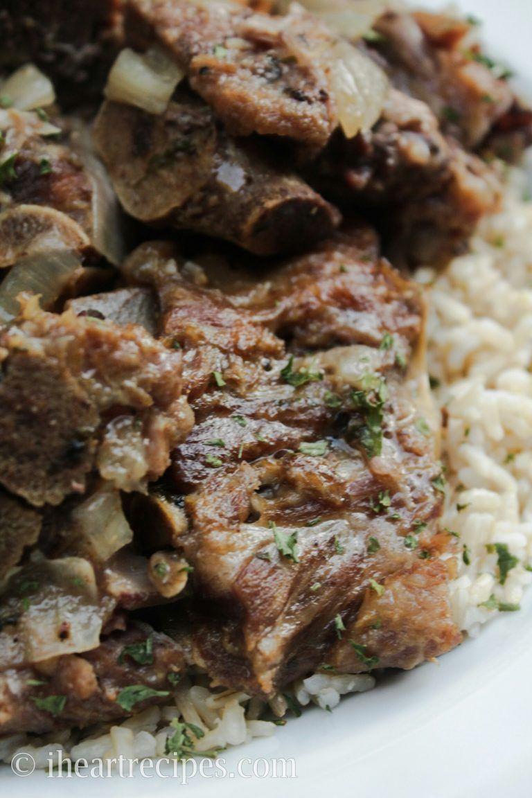 Soul food style pork neck bones recipe soul food pork and food soul food style pork neck bones southern dishessouthern forumfinder Images