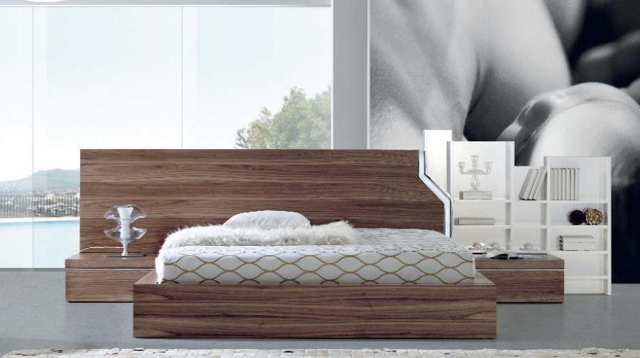 Dormitorio Lineal Moderno Cama 2 Plz 2 Veladores Dr 020 U S 950