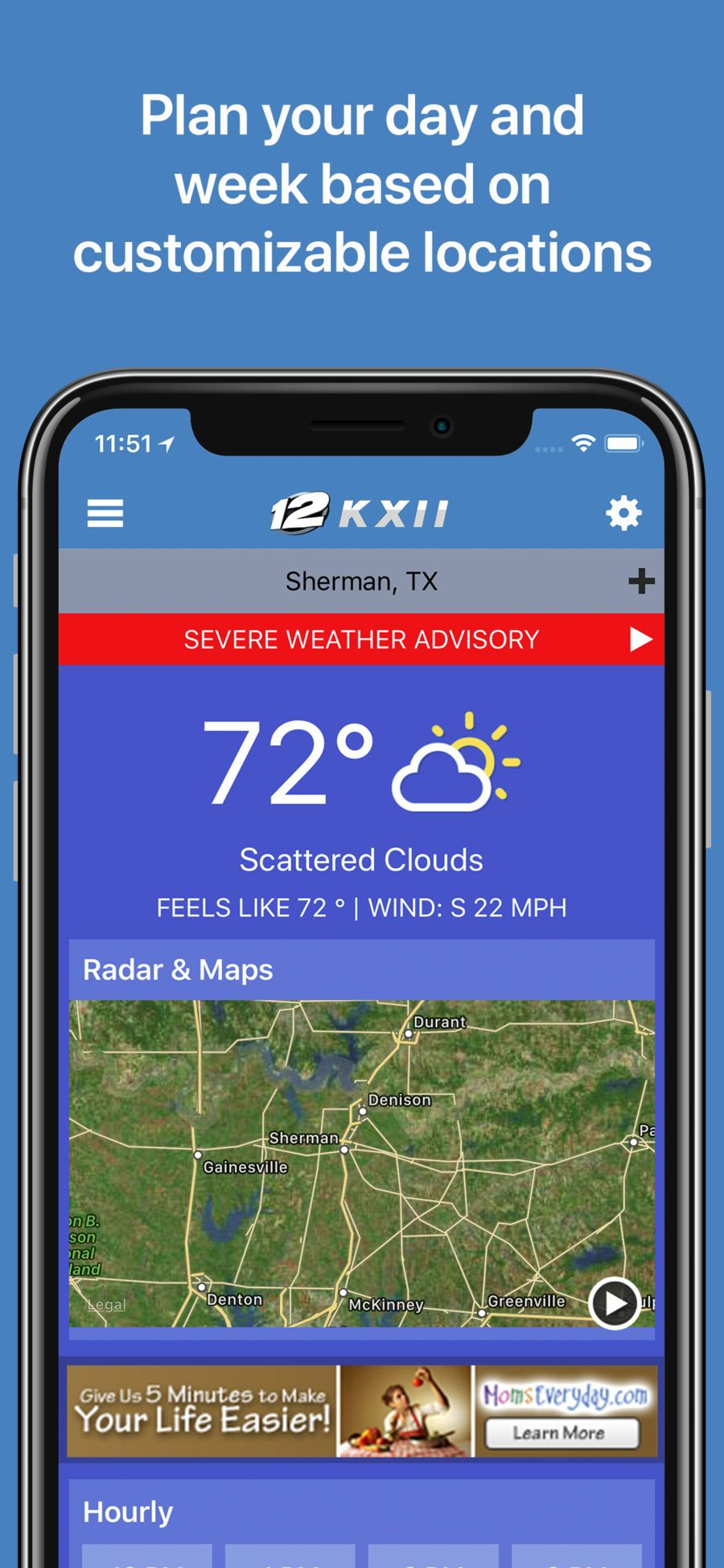 Kxii News Weather Group Apps Ios Severe Weather Weather Advisory Apples To Apples Game