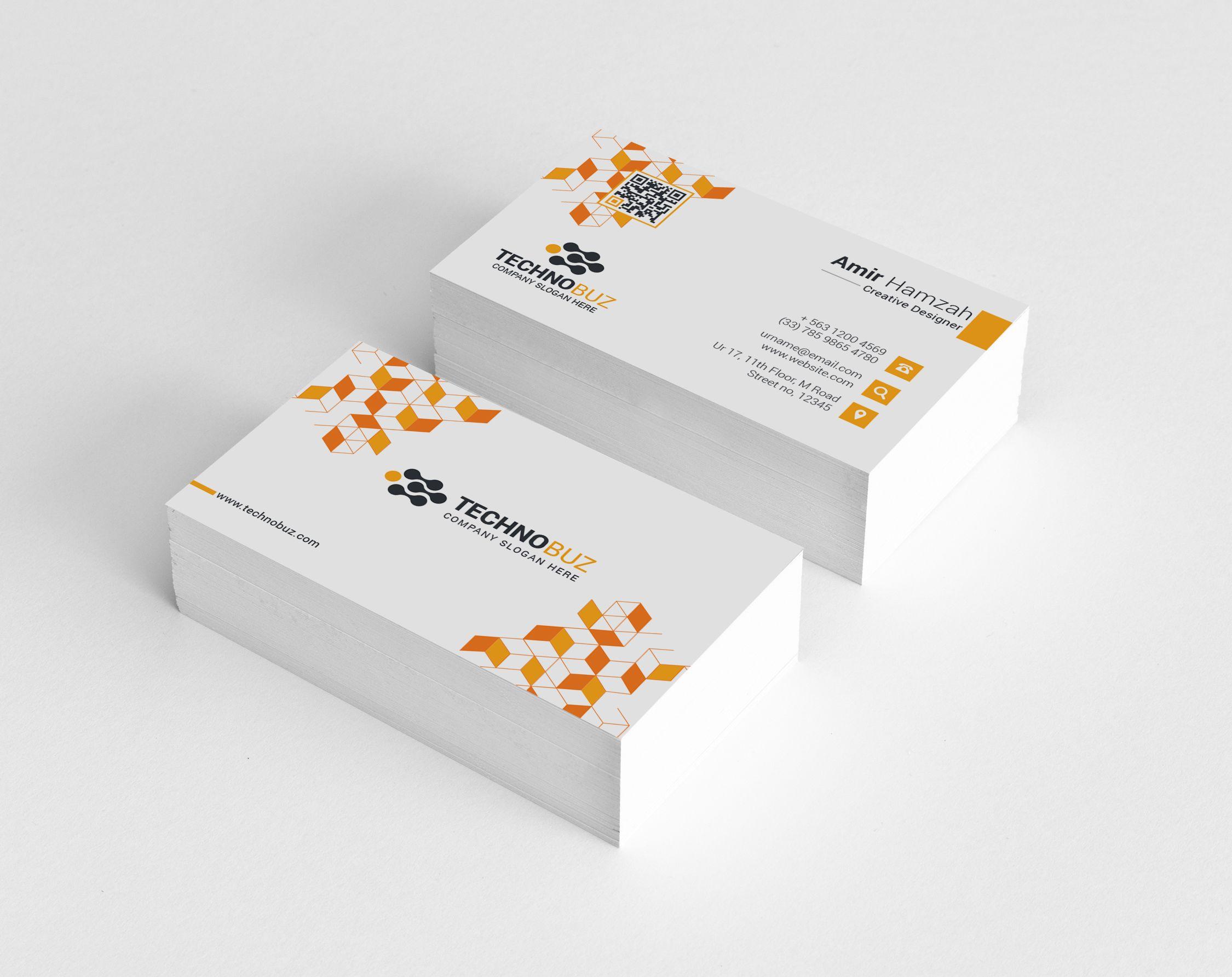 Cubes Premium Elegant Business Card Template Graphic Templates Elegant Business Cards Business Card Template Business Card Template Design
