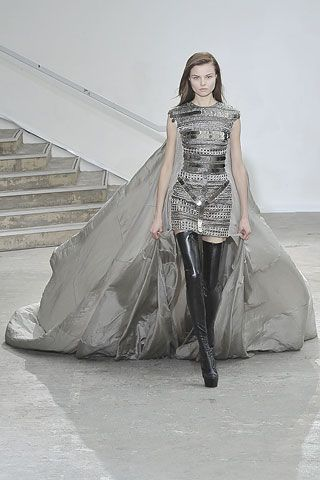 """I KNEW IT!!!   Lady Gaga wears this sucker in the """"Poker Face"""" video!  I took one look at and went:  AHA! I've SEEN THIS BEFORE!! Antonio Berardi Fall 2008."""