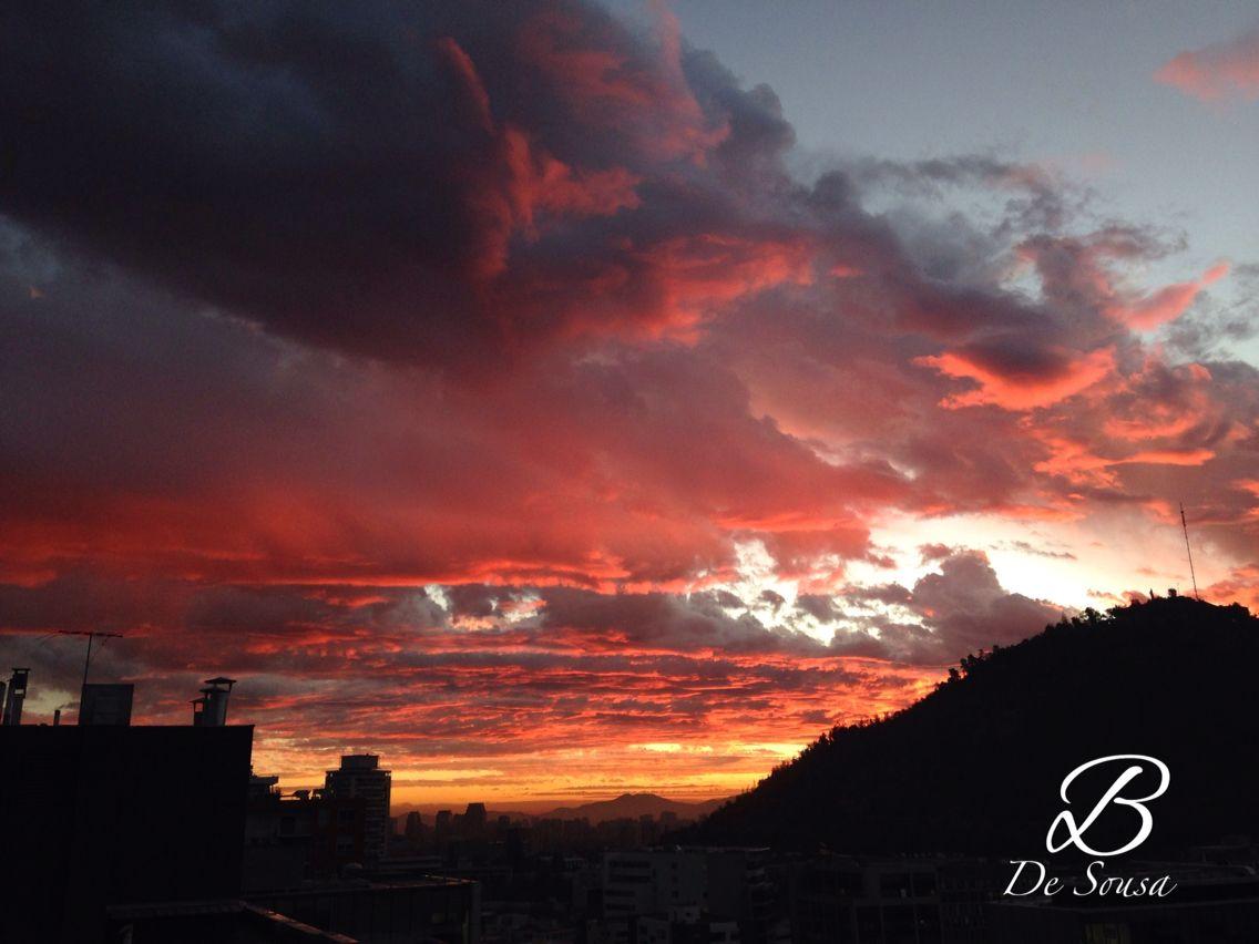 #tormenta #atardecer #storm #sunset