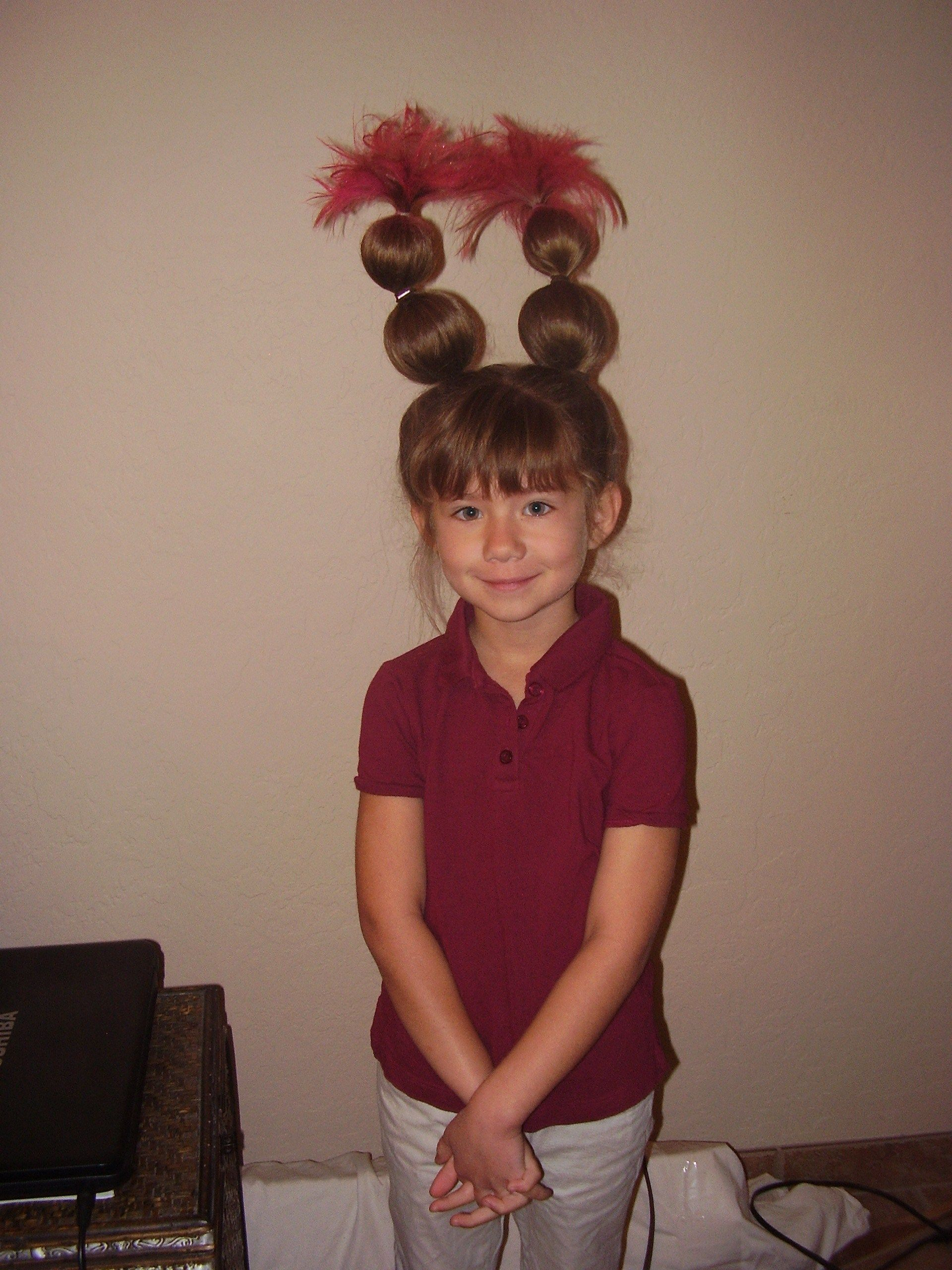 Pin By Bit Players Ideas For Theatr On Hair Make Up Ideas For Stage Whoville Hair Wacky Hair Crazy Hair Day At School