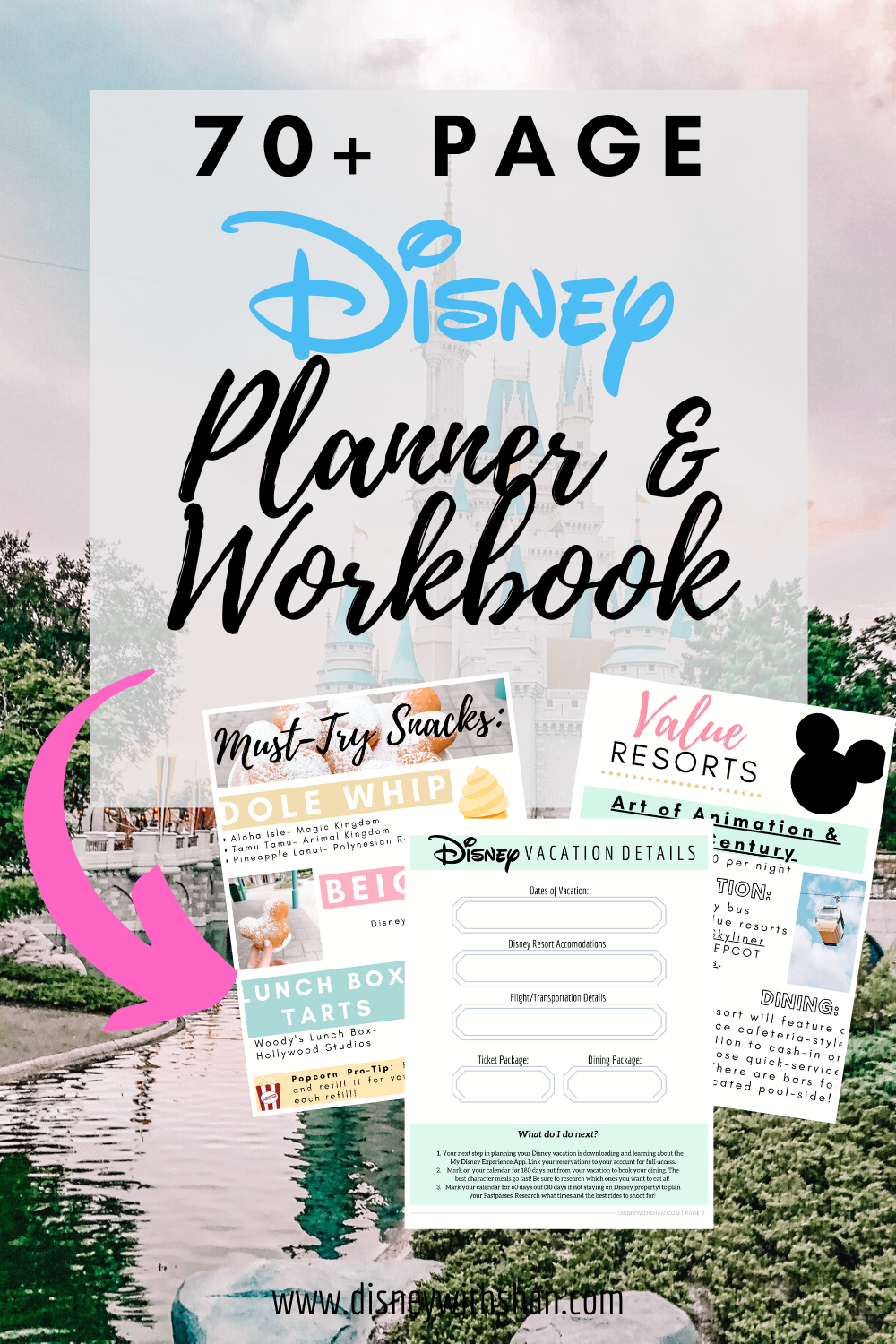 Walt Disney World Vacation Planner and Guide