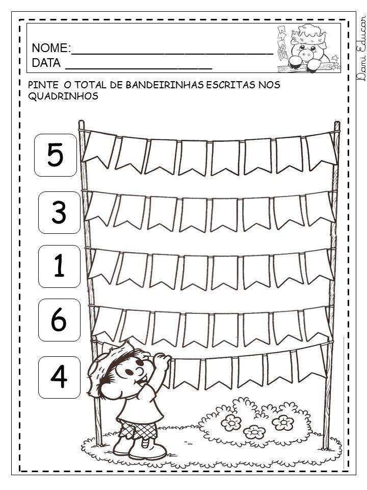 Atividades De Alfabetizacao Sobre Festa Junina Atividades Festa