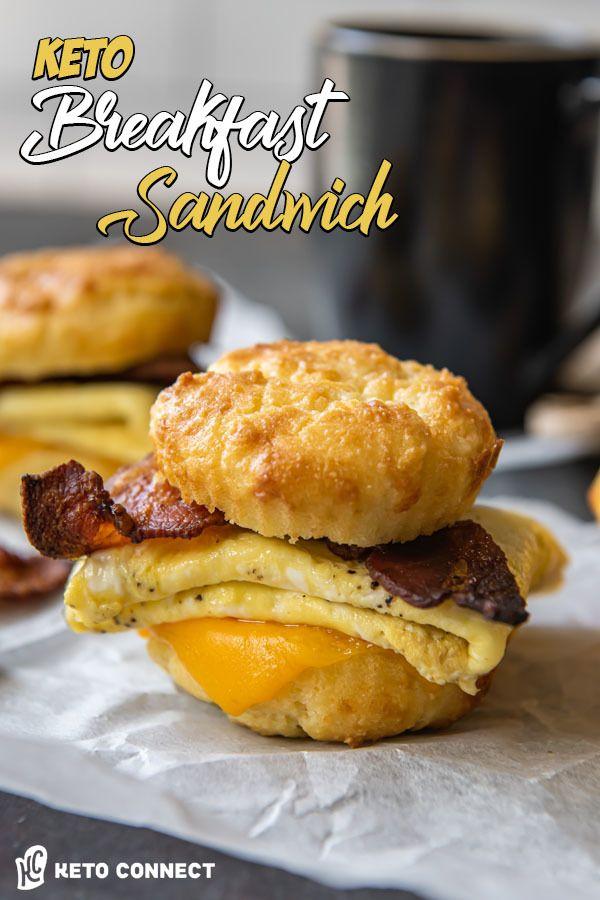 Easy Keto Breakfast Sandwich -   18 healthy recipes Breakfast keto ideas