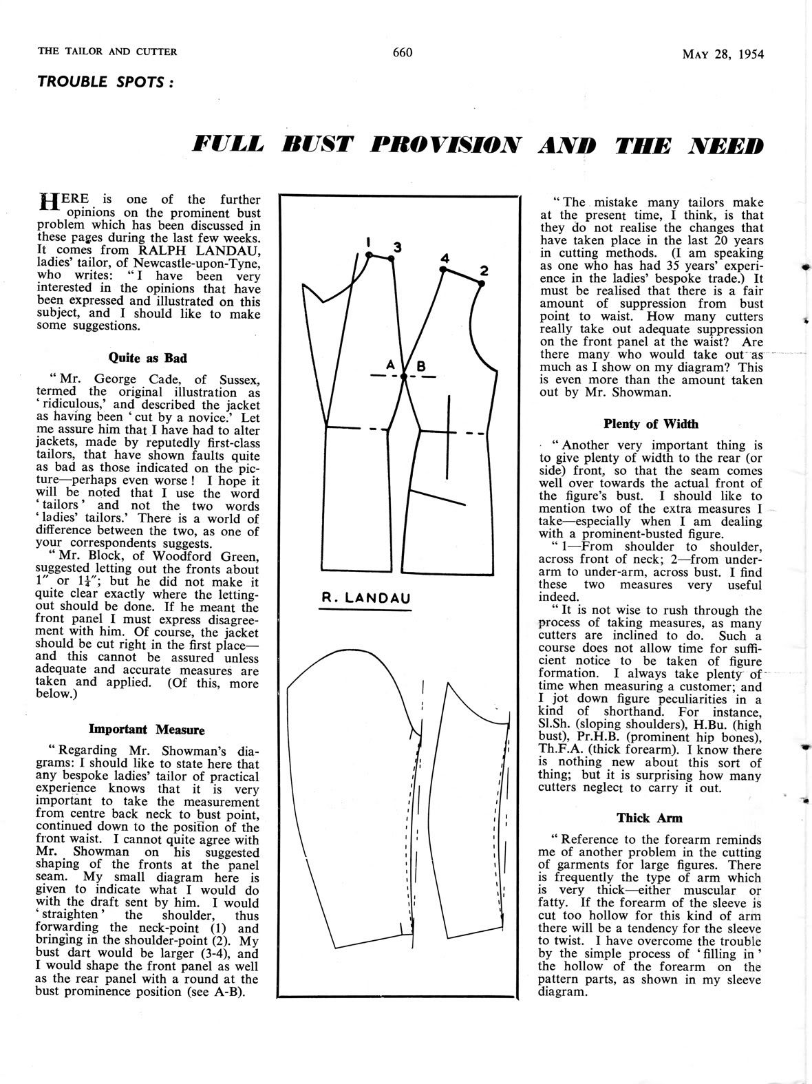 Thinking about busts in ladies pattern drafting in 1954 bust thinking about busts in ladies pattern drafting in 1954 jeuxipadfo Image collections