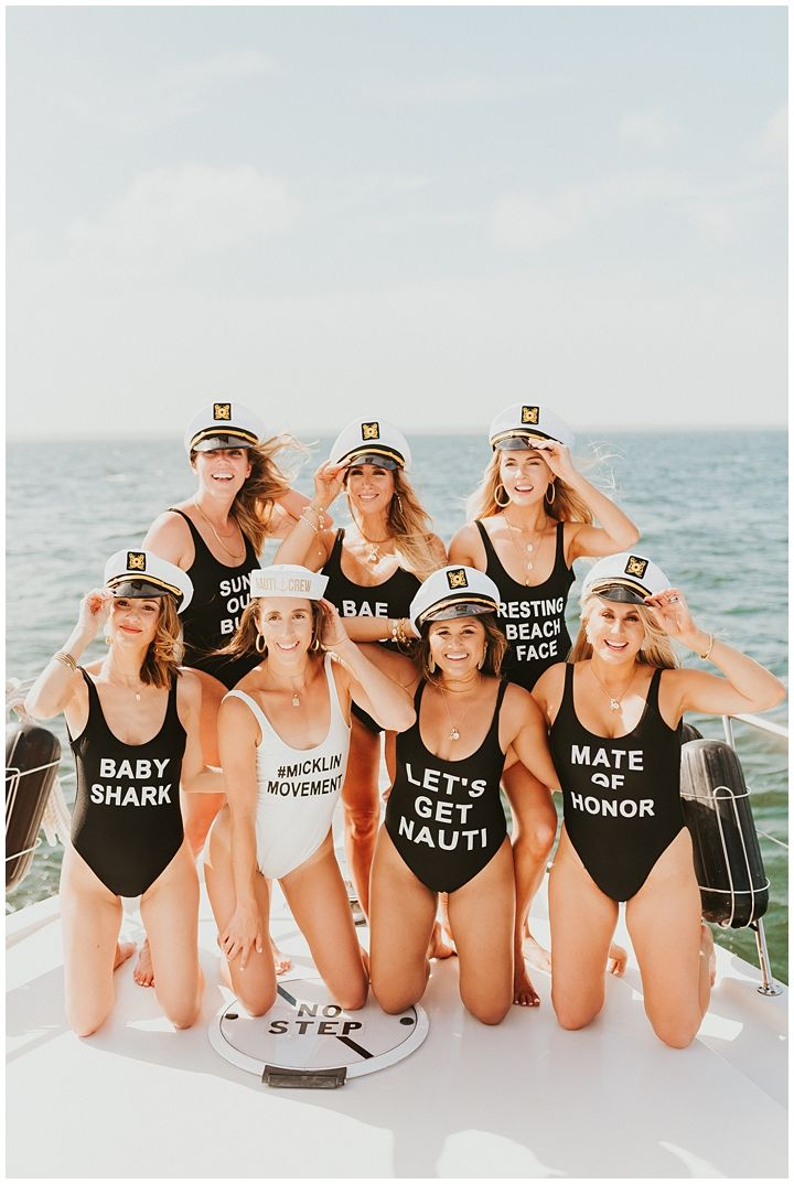 How To Throw The Perfect Beach Bachelorette Party #pooloutfitideas