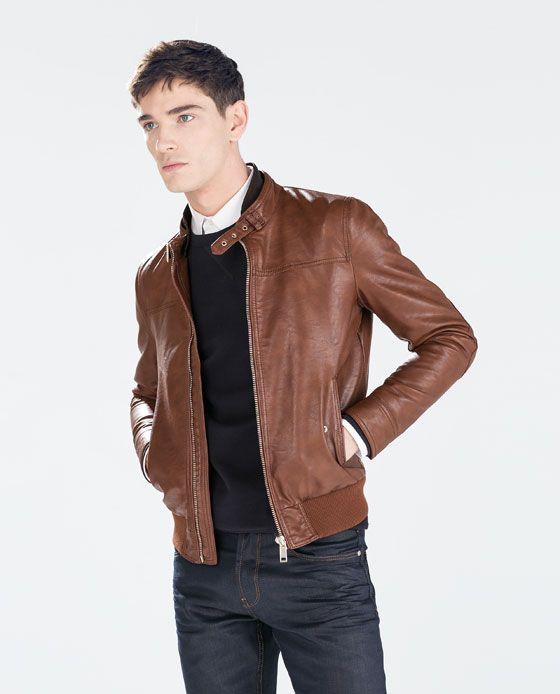 Seamed Jacket Jackets Man Zara United States Moda Casual Para Hombre Chaqueta Hombre Moda Hombre