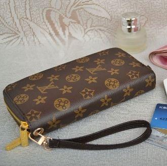 b7bc6142391 Louis Vuitton Logo Wristlet Wallet | Purses | Wristlet wallet, Louis ...