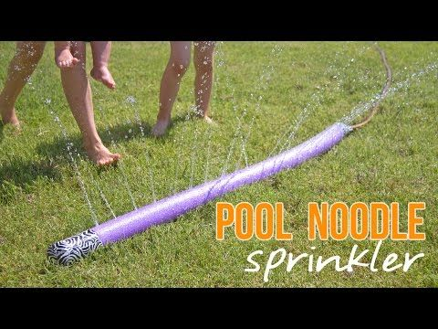 Mom Transforms A $1 Pool Noodle Into Entertainment For The Whole Family - This Is Brilliant - DIY Craft Projects