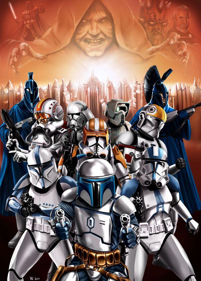 Rise Of The Empire By Robert Shane Deviantart Starwars Art Star Wars Pictures Star Wars Images Star Wars Art