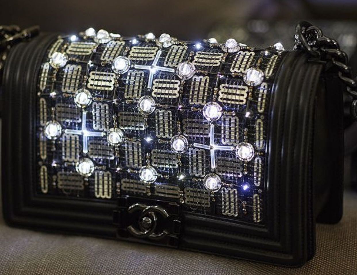 c9c71c6142de Chanel Data Center LED handbag #ChanelDataCenter | Research Board in ...