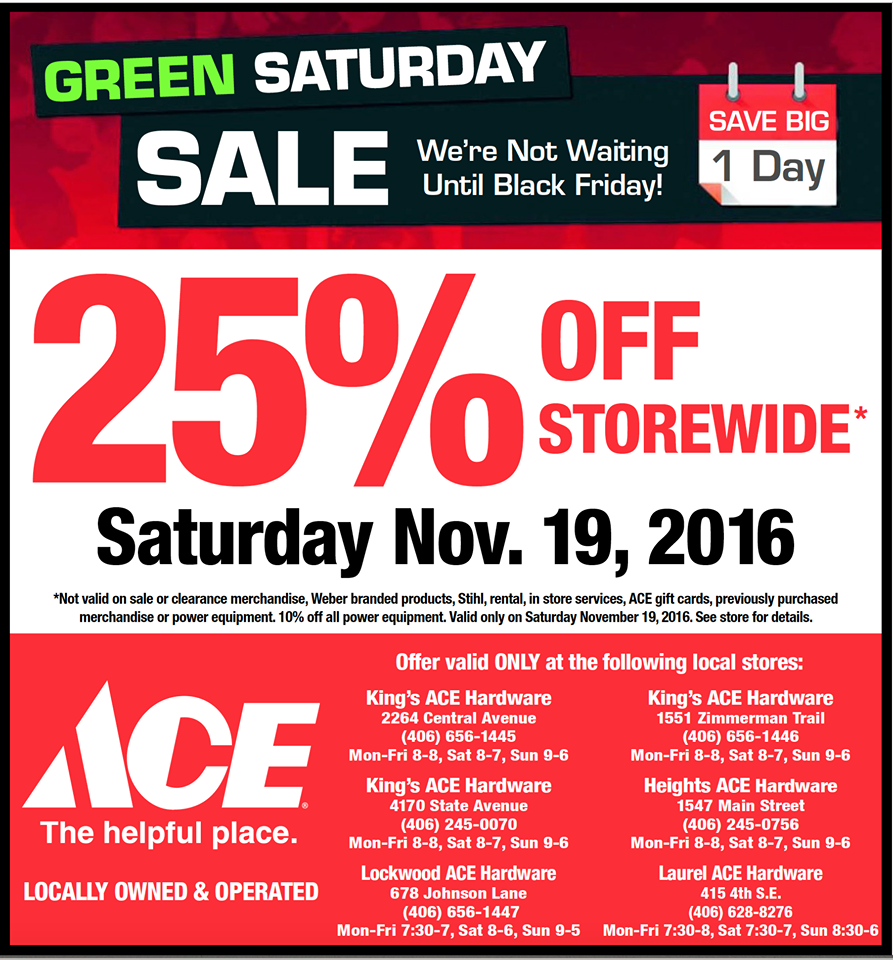 pin by king u0027s ace hardware on flyers promotions pinterest