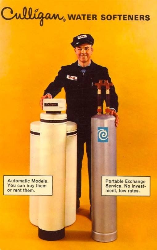 Vintage Culligan Ad Culligan Postcard Vintage Ads