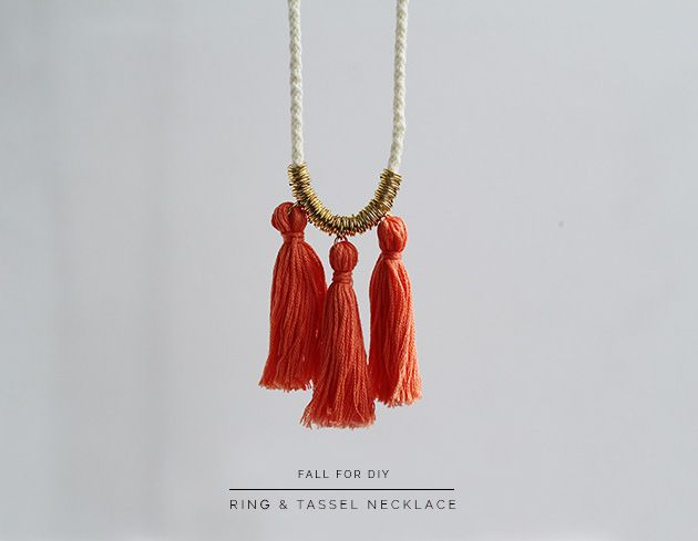 Diy ring and tassel necklace jewelry ring diy diy ideas diy crafts diy ring and tassel necklace jewelry ring diy diy ideas diy crafts do it yourself crafty solutioingenieria Choice Image