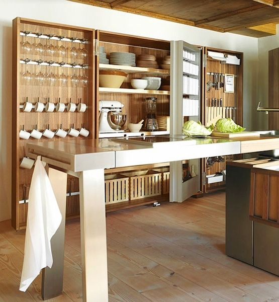 Ultimate Kitchen Layout: The B2 Kitchen Workshop By German Design House Bulthaup