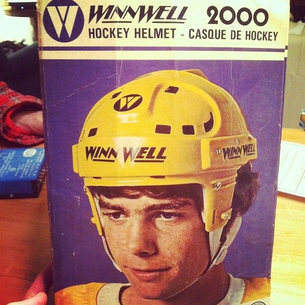 Vintage Winnwell Hockey Helmet Hockey Helmets Hockey