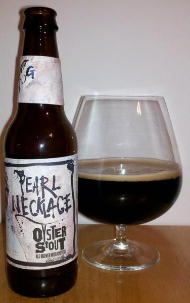 Pearl Necklace Oyster Stout (Flying Dog Brewing Co.)