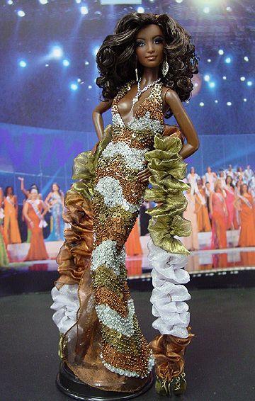 Ooak Barbie Ninimomo S Miss Nigeria 2011 Barbie Miss