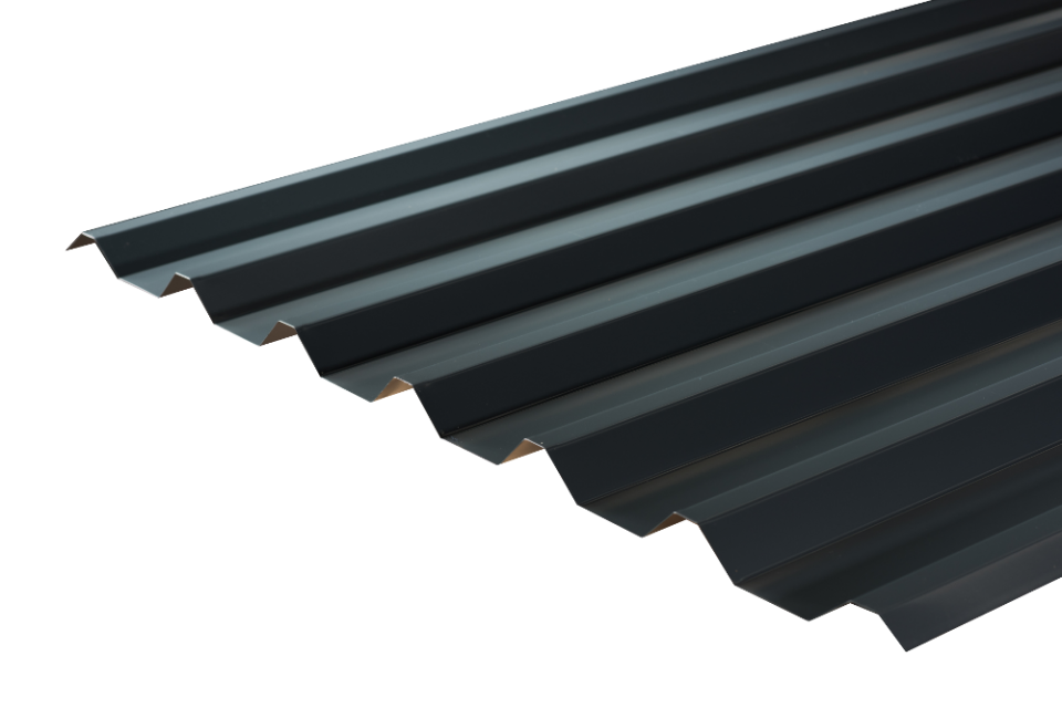 Steel Box Profile Roofing Sheet 34 1000 Polyester Paint Coated 0 5mm 0 7mm Roofing Sheets Roofing Corrugated Metal Roof