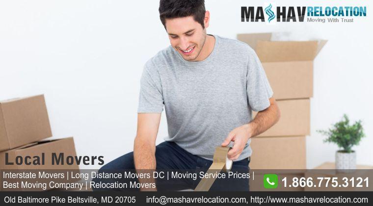 Interstate moving company maryland moving company
