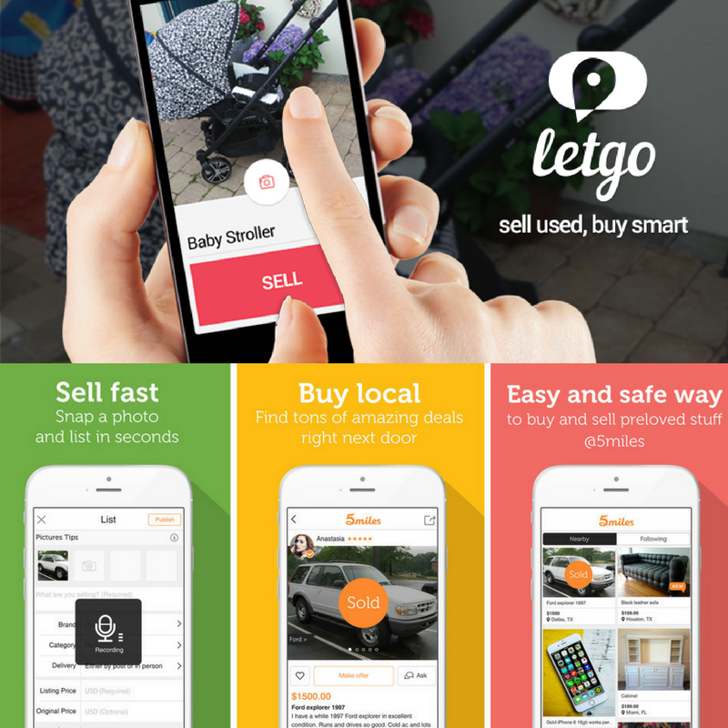 My Utilities|Declutter Fast With 5Miles or LetGo