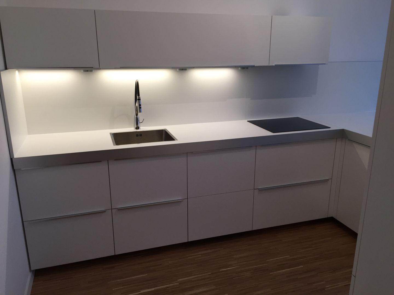 Ikea Küche ganz in weiß | new home | Pinterest | Ikea küche, Ikea ...
