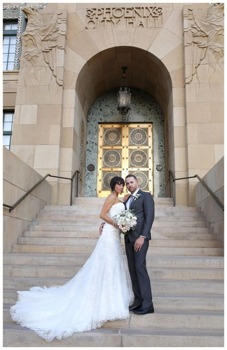 Downtown Phoenix City Hall Styled wedding shooting