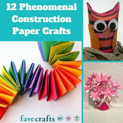 12 Phenomenal Construction Paper Crafts #constructionpaperflowers 12 Phenomenal Construction Paper Crafts #constructionpaperflowers