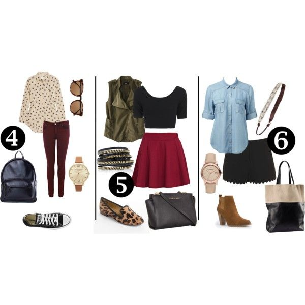 """""""back to school - outfits 2"""" by patricia-balint on Polyvore"""