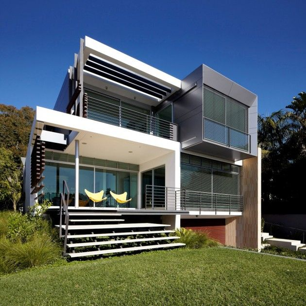 Edward Szewczyk Architects designed the Wentworth Rd house in
