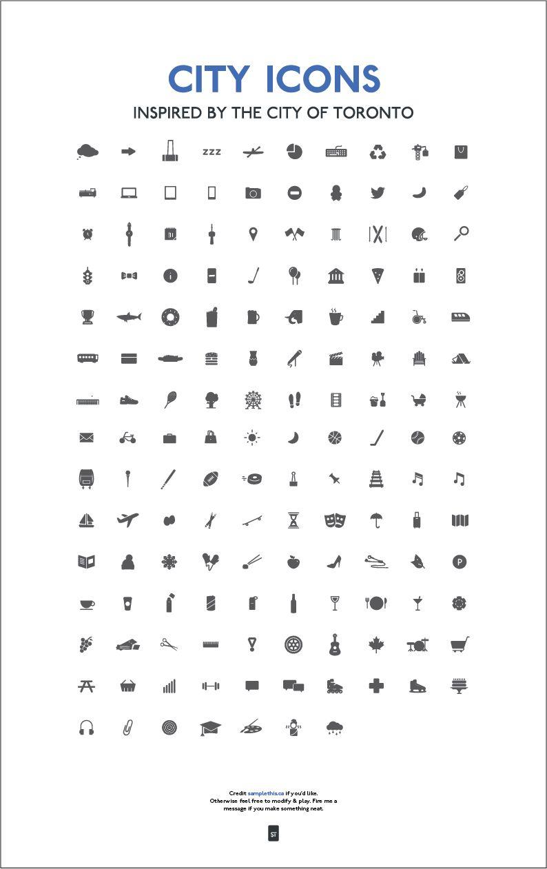 City Icons   Icons