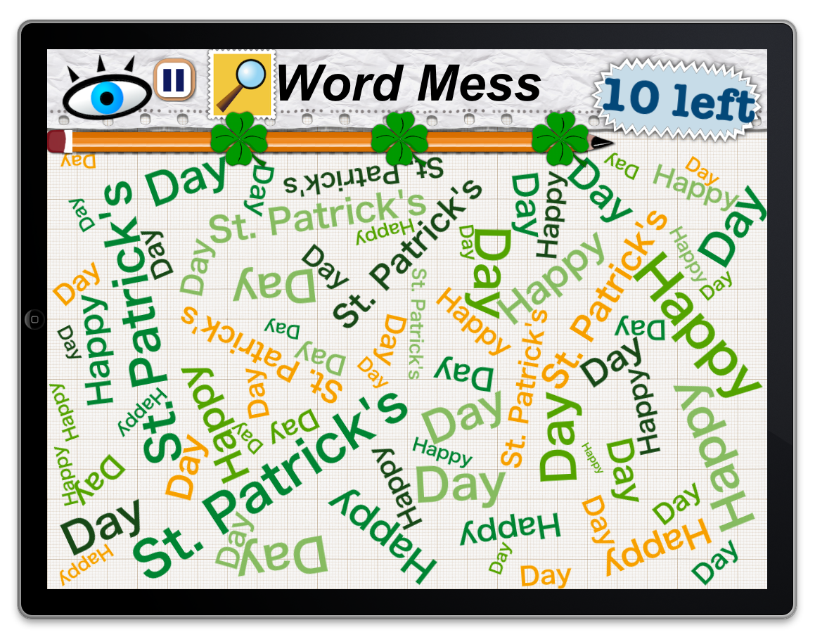 Word Mess Had A Few On St Patty S Day