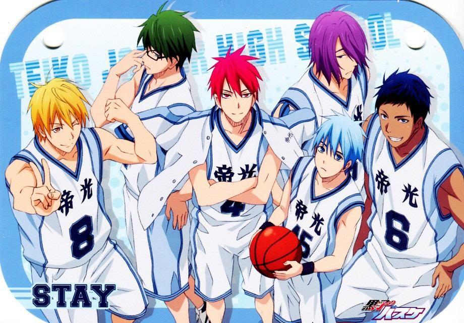 6 Anime Like Kuroko No Basket Sports Anime Recommendations Kuroko No Basket Kuroko No Basket