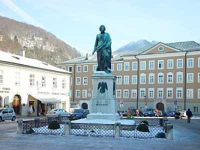 Visited Motzart's home while in Salzburg Austria