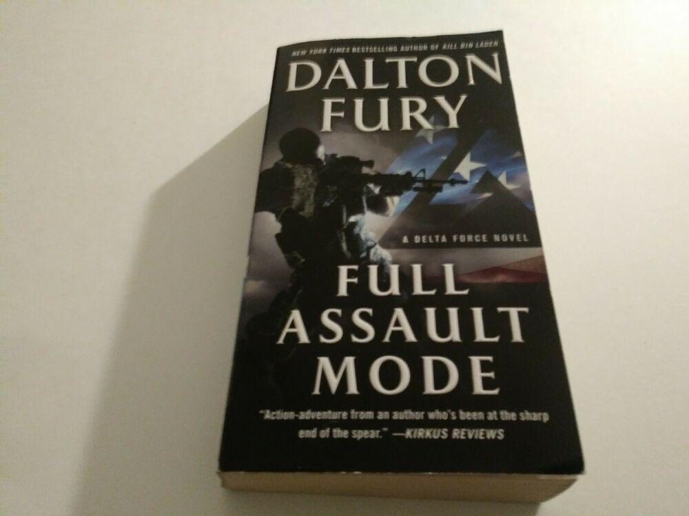Details about a delta force novel full assault mode a