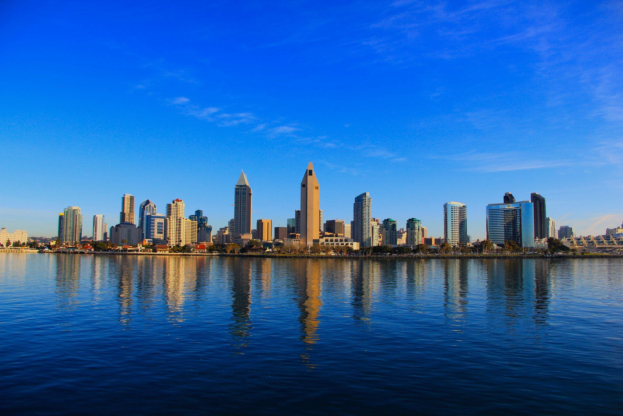 San Diego Skyline From Ferry | Wedding and Marriage Plans ...
