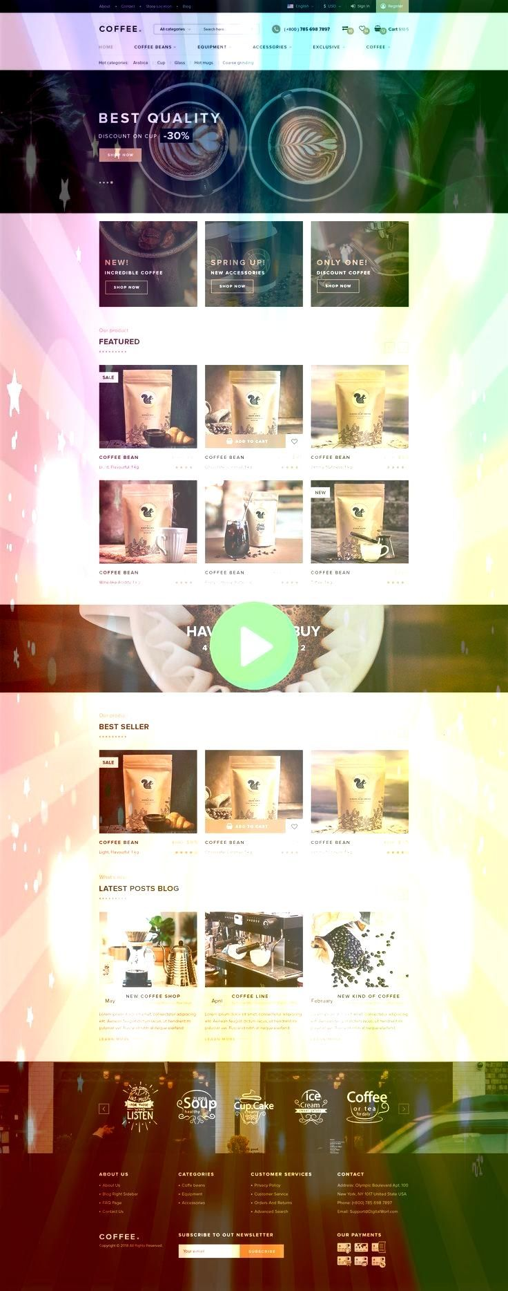 are glad to present you our second design project named Coffee Box Its a   Web Design We are glad to present you our second design project named Coffee Box Its a   Web De...
