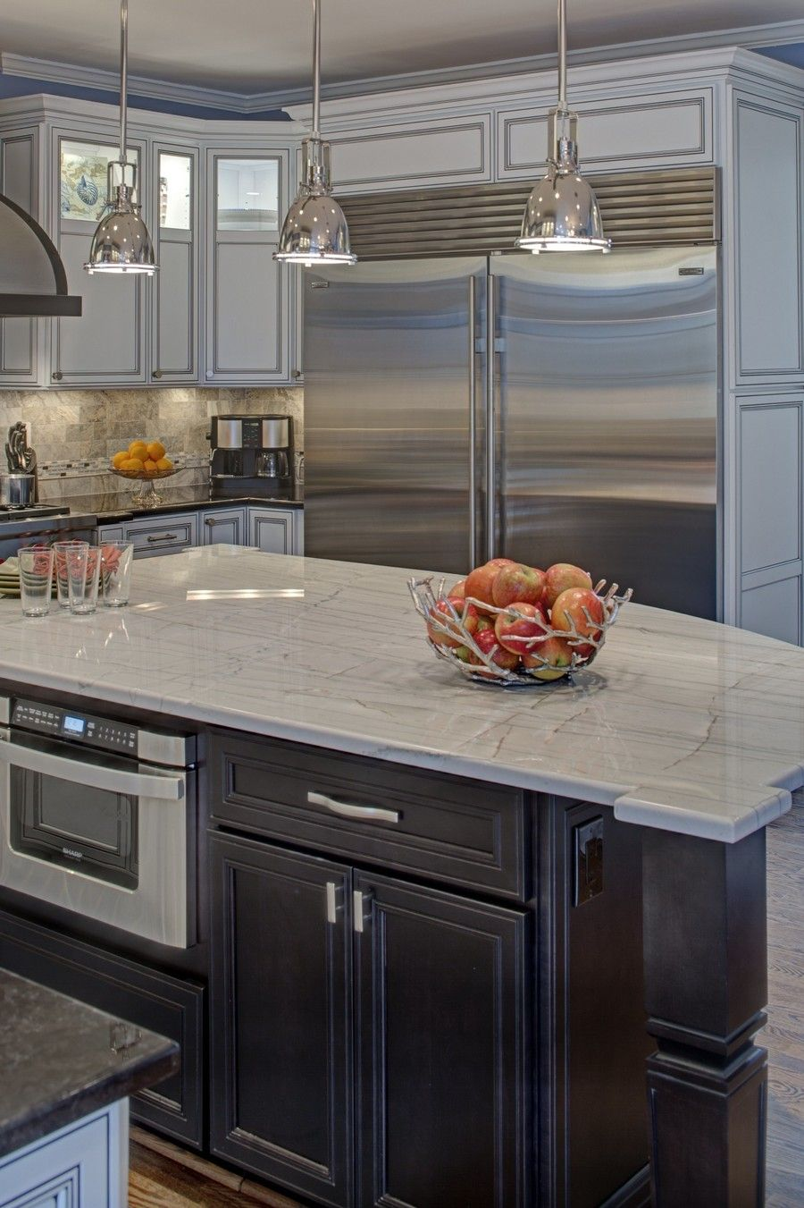 builder grade kitchen converted into top of the line on awesome modern kitchen design ideas id=99259