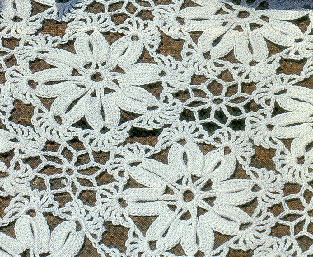 Patrón Para Tejer tapete Cuadrado a Crochet | DANTEL İŞİ | Pinterest ...