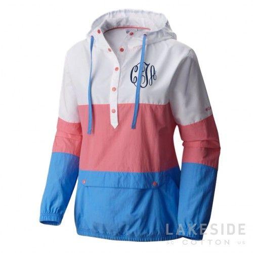 Harborside™ Windbreaker Jacket in Lollipop | Lakeside Cotton $39