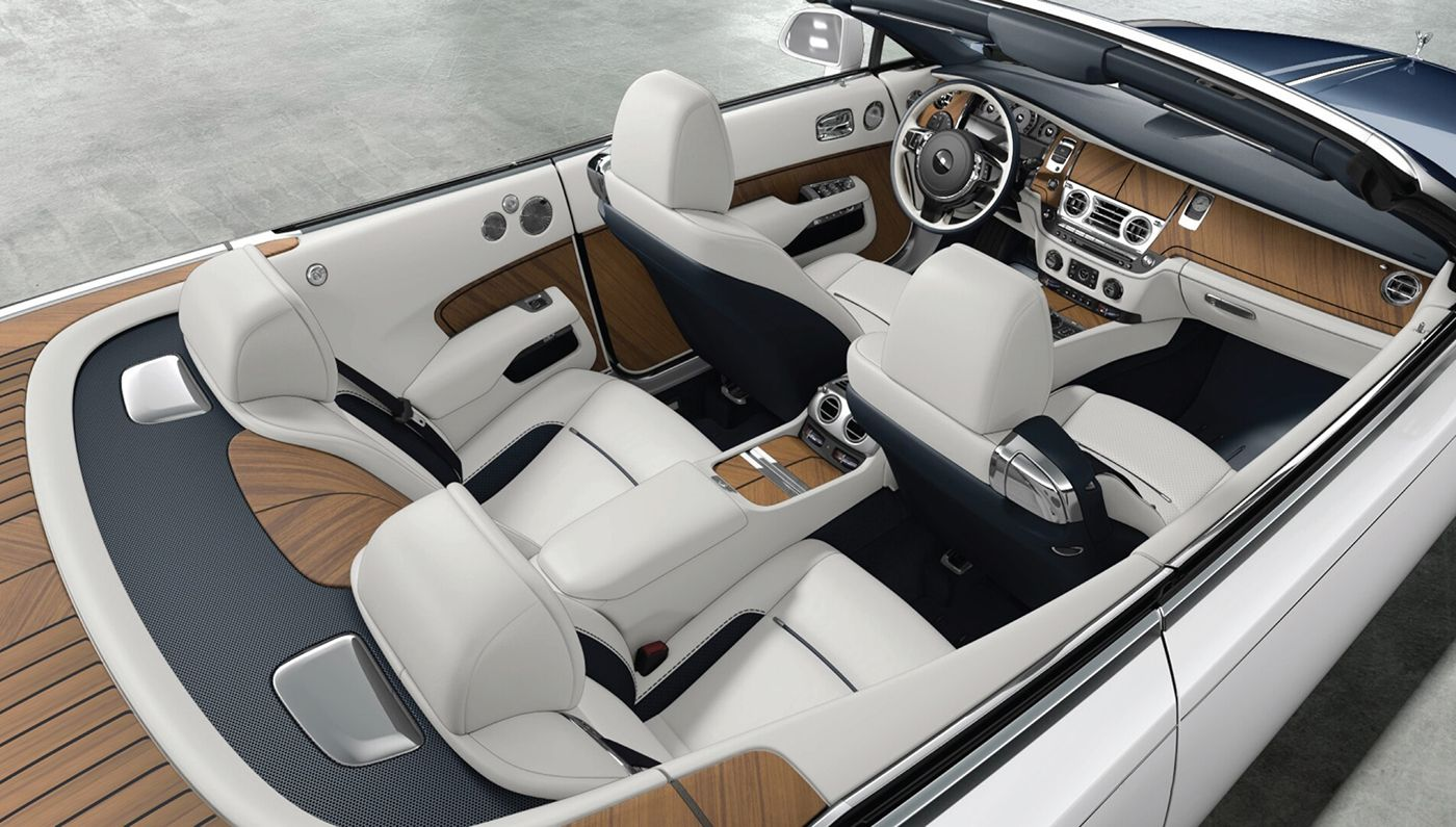 This Teak Clad Rolls Royce Dawn Is Fully Customized To