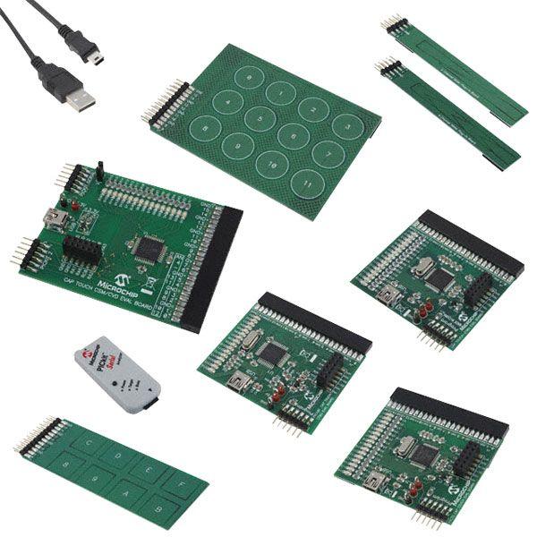 Microchip mTouch Cap Touch Evaluation Kit | Rapid Online | Sensors ...