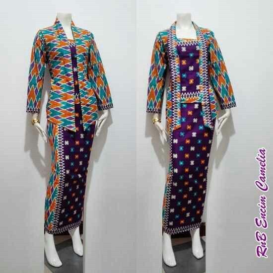 Model Baju Batik RnB Encim Camelia ALLSIZE fit XL Bahan Katun