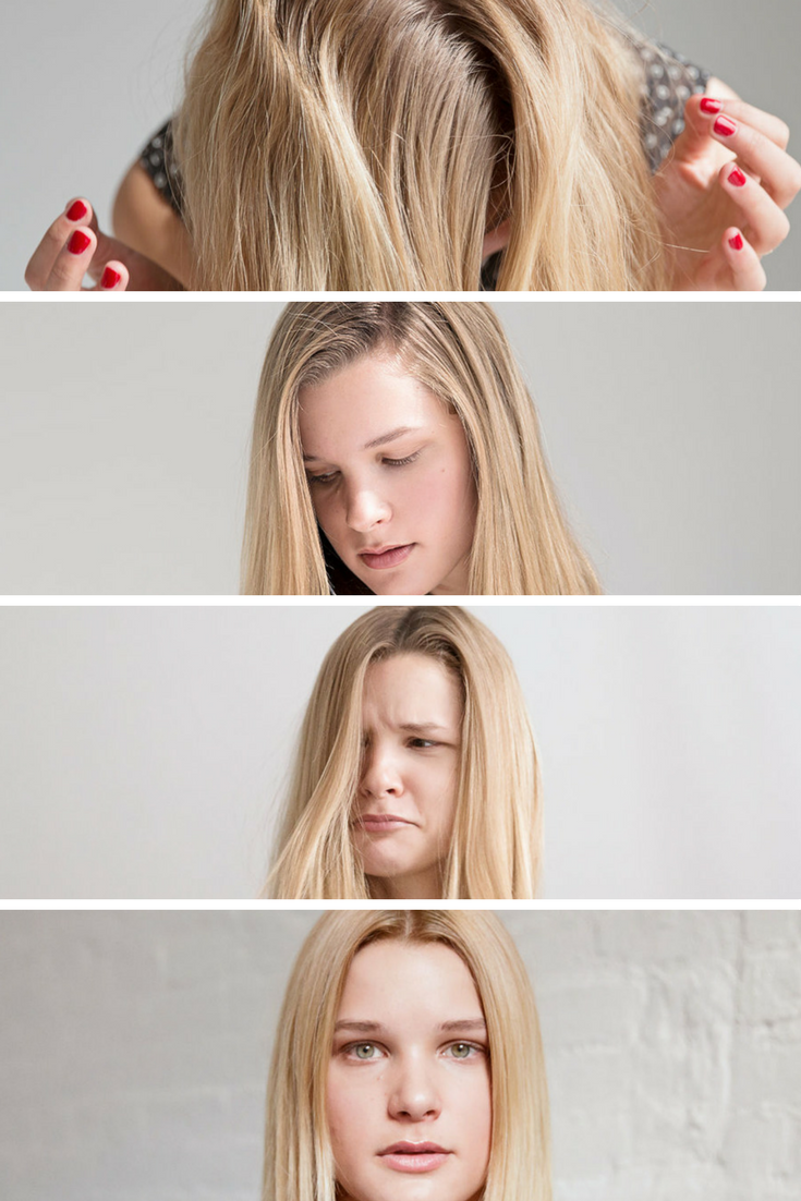 transitioning from a side part to a center part | beautychat