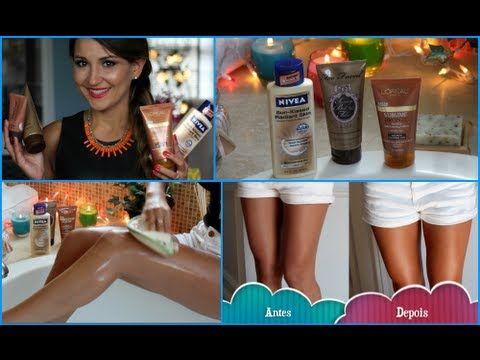 Como ter pernas bronzeadas o ano inteiro?