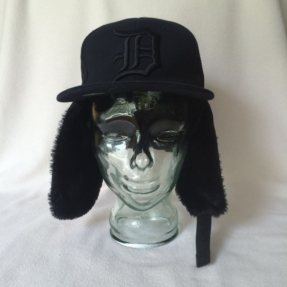 Detroit tigers mlb small dog ear fitted baseball cap hat